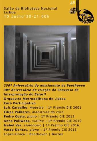 46º FESTIVAL ESTORIL LISBOA – OML | MAESTRO LUIS CARVALHO