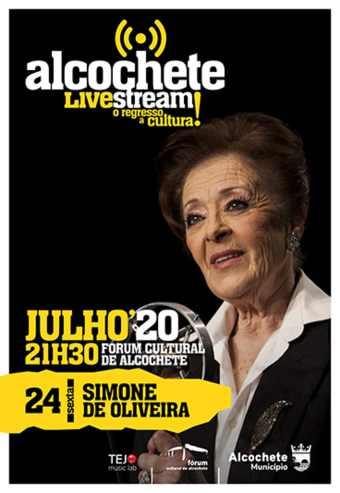ALCOCHETE LIVE STREAM – SIMONE DE OLIVEIRA