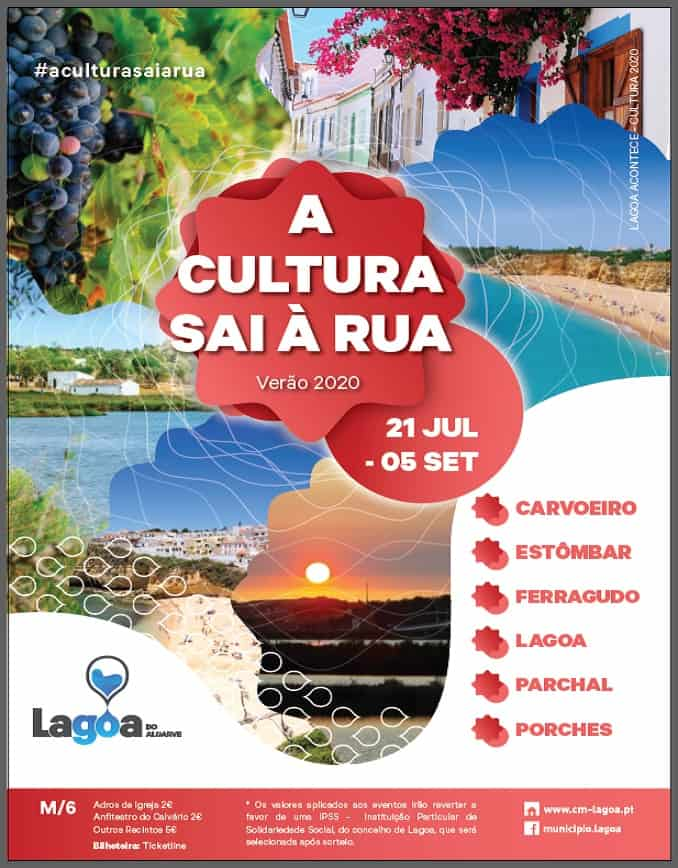 A CULTURA SAI À RUA VERÃO 2020 | LAGOA