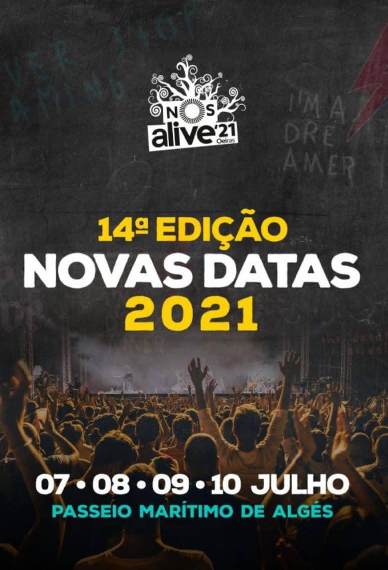 NOS ALIVE 2021   PASSEIO MARÍTIMO DE ALGÉS