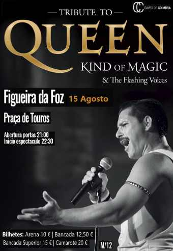 TRIBUTE TO QUEEN KIND OF & THE FLASHING VOICES | FIGUEIRA DA FOZ