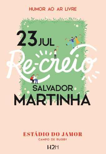 SALVADOR MARTINHA NO RECREIO | JAMOR