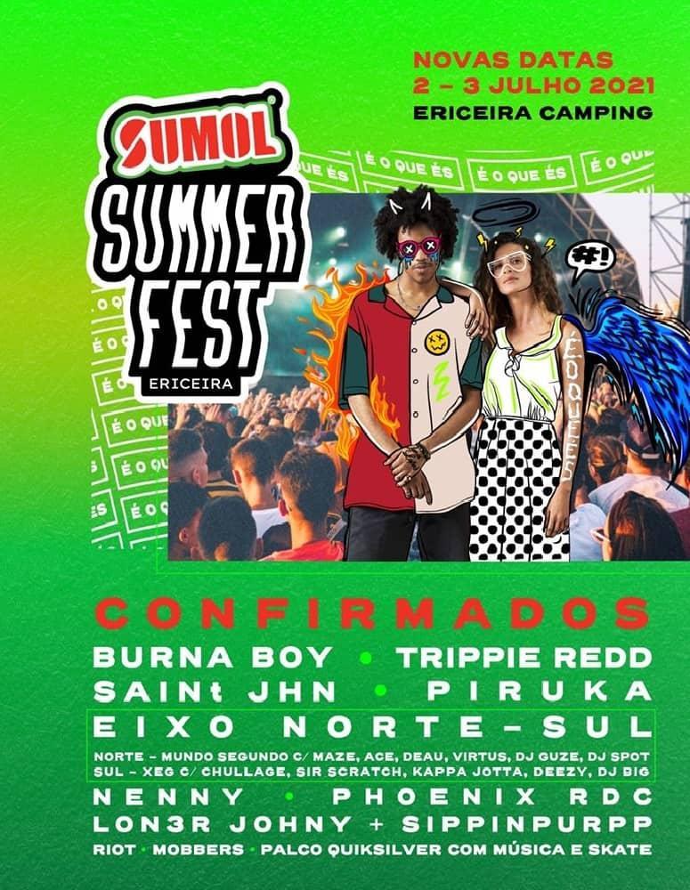SUMOL SUMMER FEST 2021 | ERICEIRA