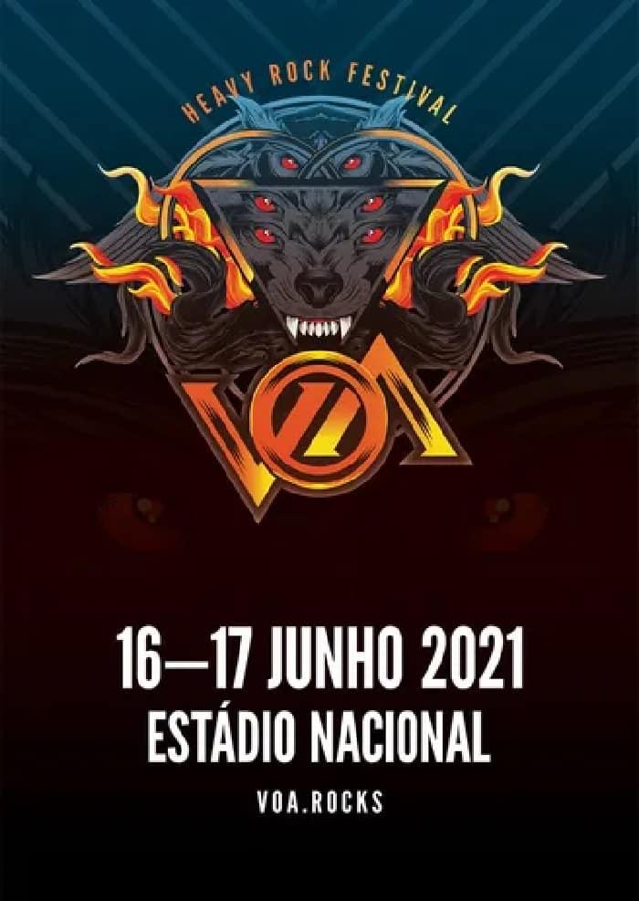 VOA 2021 – HEAVY ROCK FESTIVAL   LISBOA