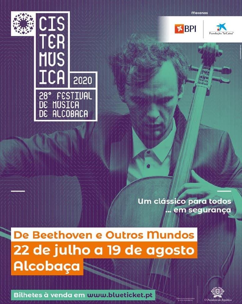 CISTERMÚSICA 2020 – 28º FESTIVAL DE MÚSICA DE ALCOBAÇA