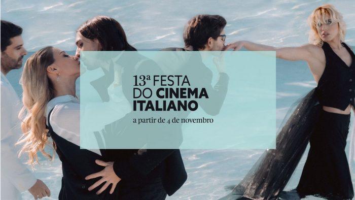 A Festa do Cinema Italiano, na sua 13ª edição, após a impossibilidade de realização no passado mês de abril, vai decorrer em novembro, em mais de 10 salas de cinema portuguesas.