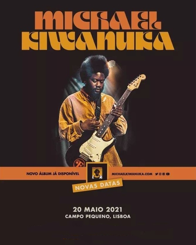 MICHAEL KIWANUKA NO CAMPO PEQUENO | LISBOA 20 MAIO 2021