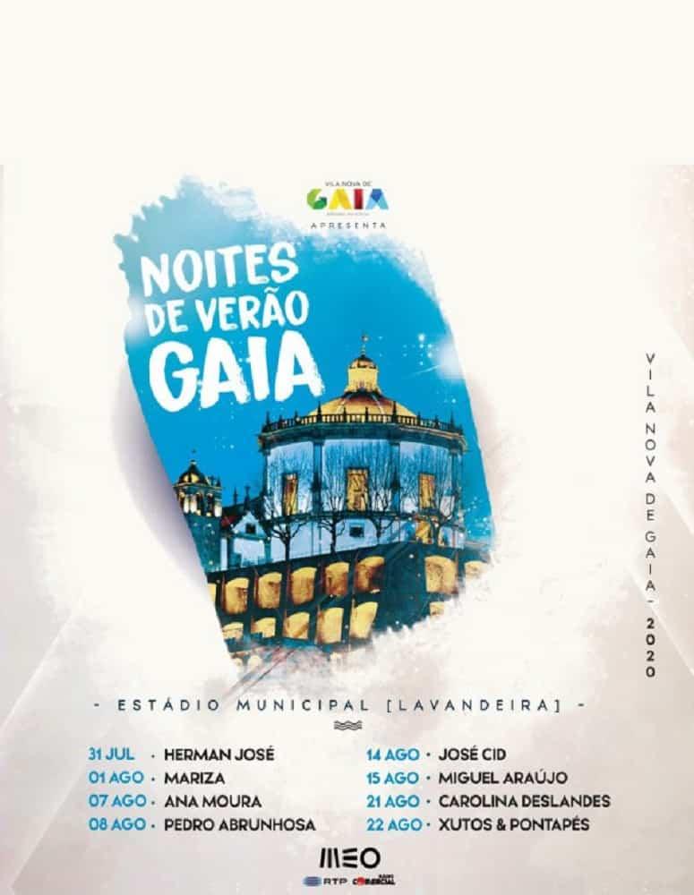 NOITES DE VERÃO EM GAIA | 31 JUL A 22 AGO