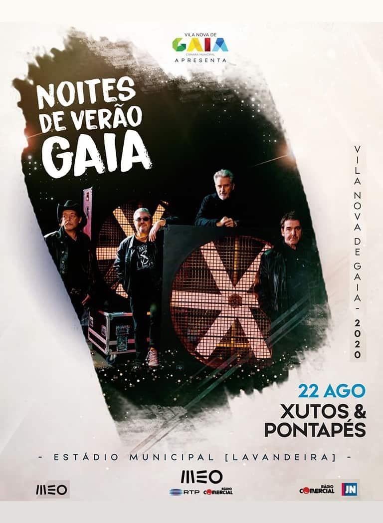 NOITES DE VERÃO – XUTOS & PONTAPÉS   22 AGO EM GAIA