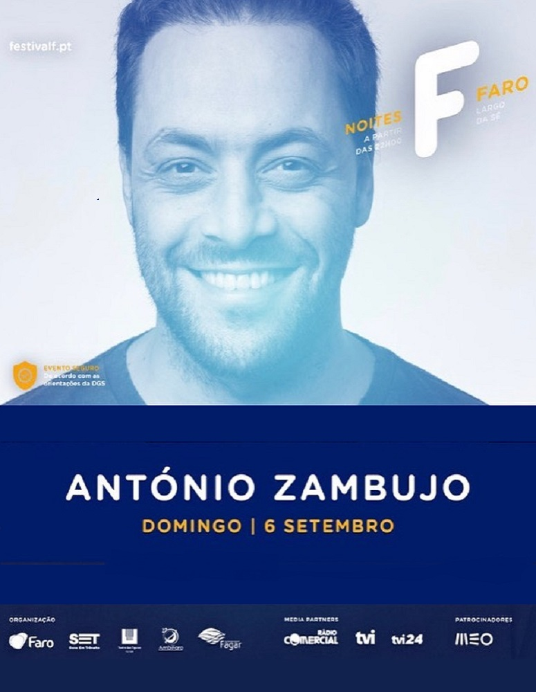 NOITES F – ANTÓNIO ZAMBUJO | 06 SET