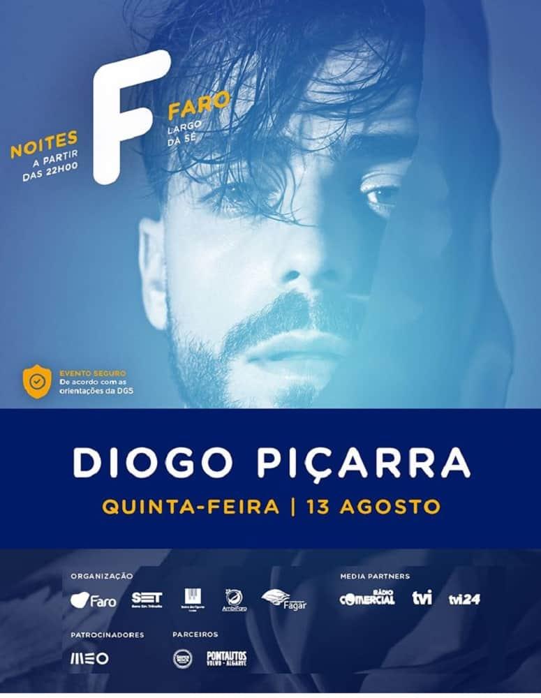 NOITES F – DIOGO PIÇARRA | 13 AGO