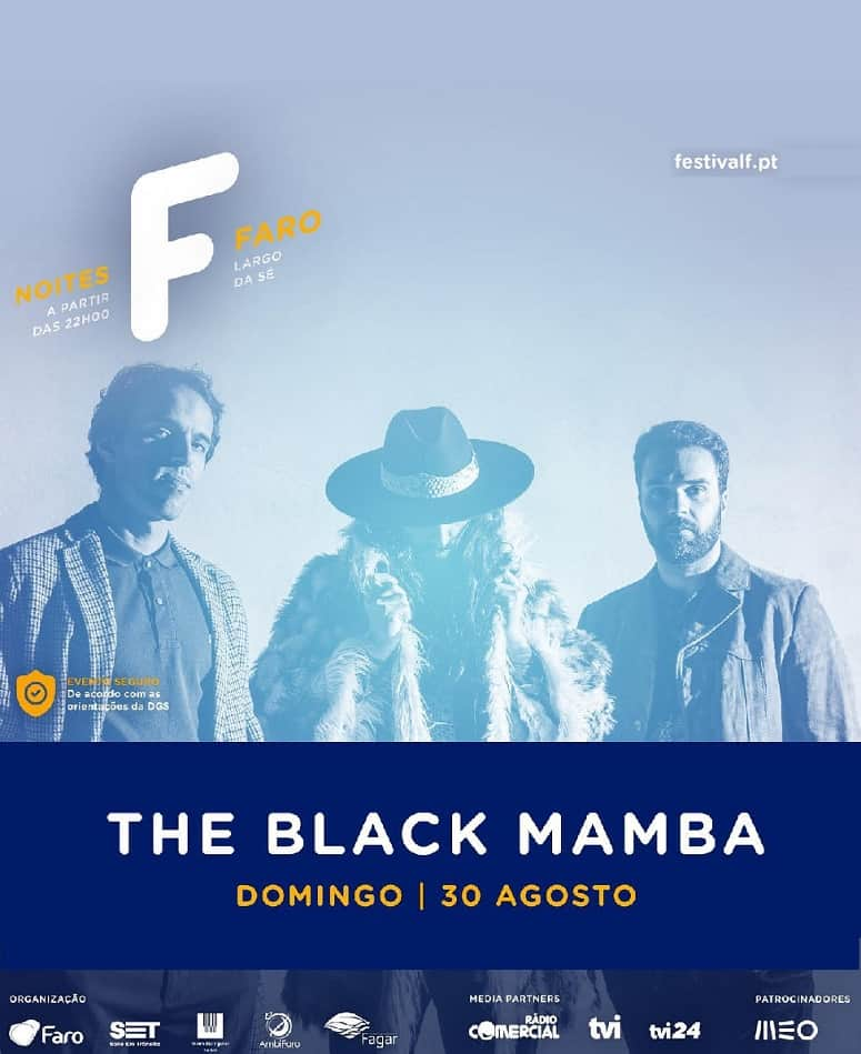 THE BLACK MAMBA – NOITES F | 30 AGO 2020