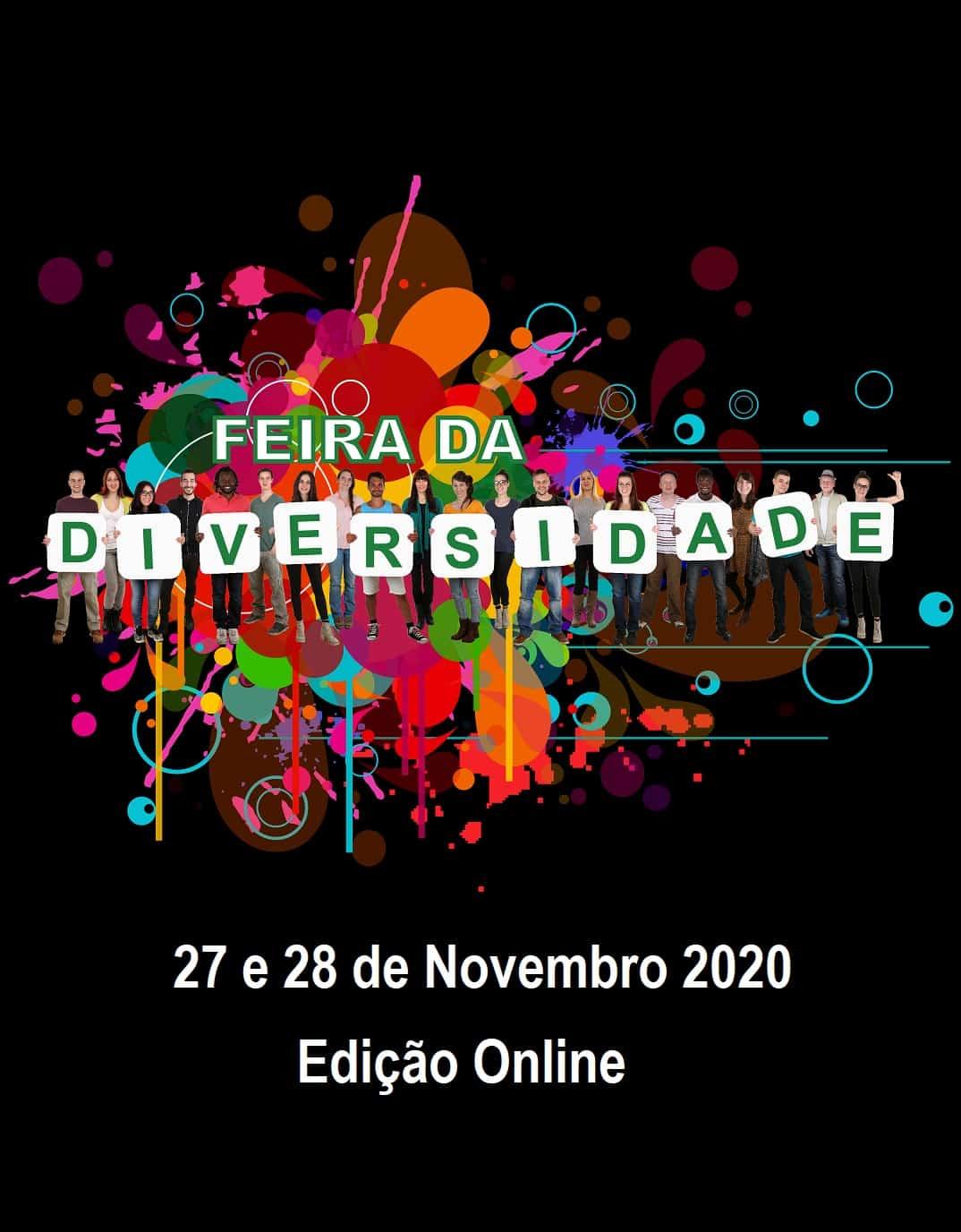 FEIRA DA DIVERSIDADE 2020 – 4ª EDIÇÃO ONLINE